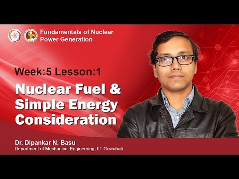 Fundamentals of Nuclear Power Generation-mod05lec13