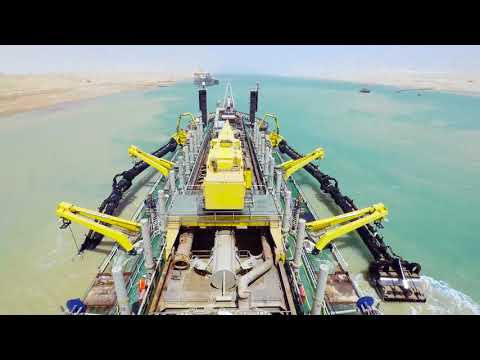 Dredging: Trailing Suction Hopper Dredgers - How does it work?