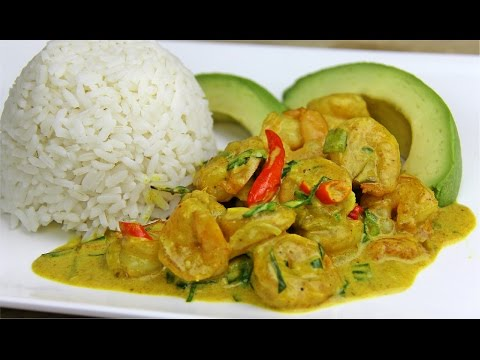 Tasty Coconut Curry Shrimp Recipe [Gluten Free] - Chris De La Rosa