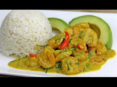 Curry shrimp recipes easy