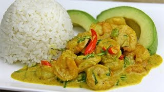 Tasty Coconut Curry Shrimp Recipe [gluten Free] - Chris De La Rosa