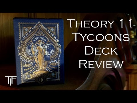 Theory 11 Tycoon Playing Cards - Deck Review