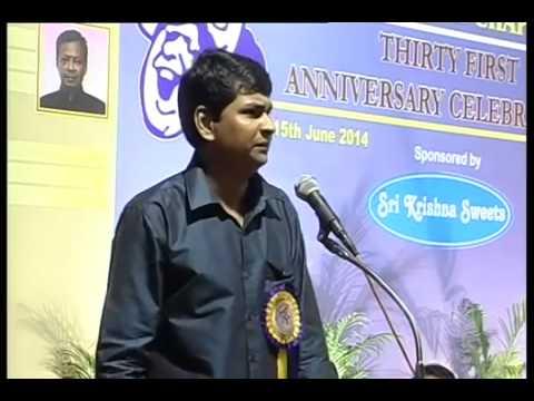 Humour Club 31st Anniversary Celebrations | Film Actor Visu | Gana Sambandham