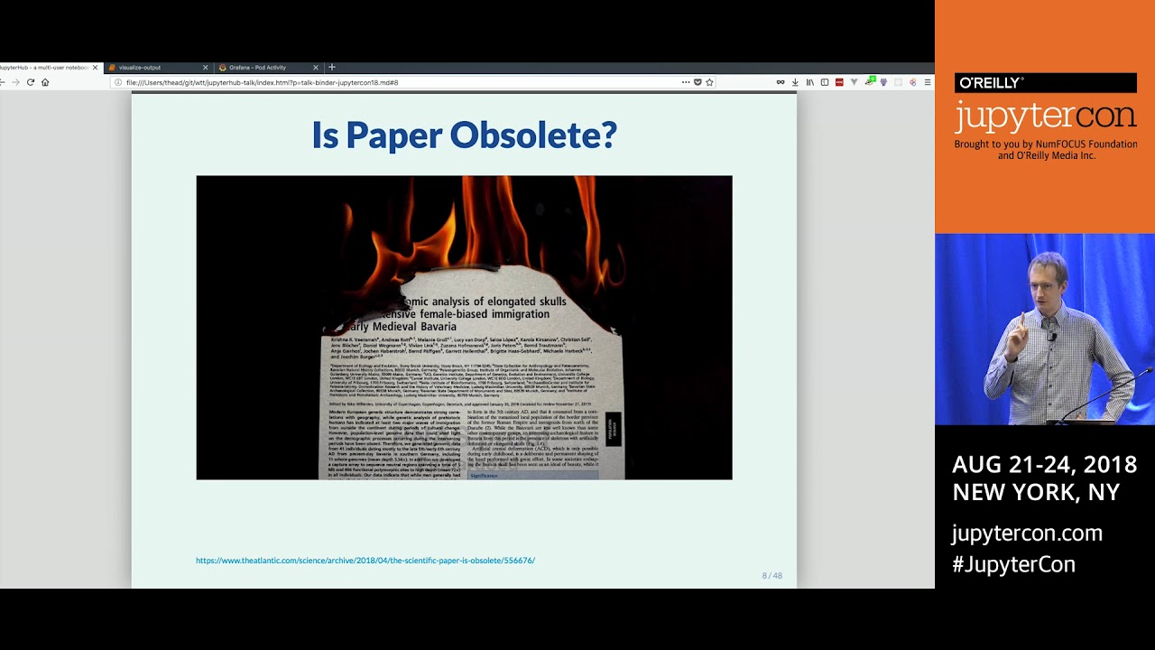 Image from Binder: Lowering the bar to sharing interactive software- Tim Head (Wild Tree Tech)