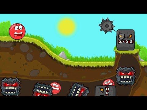 RED BALL 5 ACTION BALL BATTLE NEW AWESOME LEVELS MUST WATCH