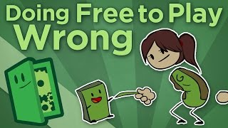 Extra Credits - Doing Free to Play Wrong - How Bad Monetization Harms F2P Games(Free to Play or F2P games often earn criticism for putting profits ahead of good game design. Pay walls and pay to win monetization strategies corrupt the ..., 2014-04-09T14:00:03.000Z)