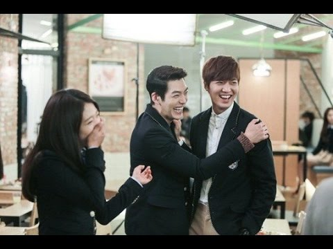 The Heir lee min ho and Park shin hye Behind the scence, The