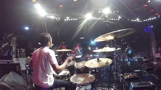 Hutang (Floor 88) - Drum Cam -  Live at Konsert RockMania RTM