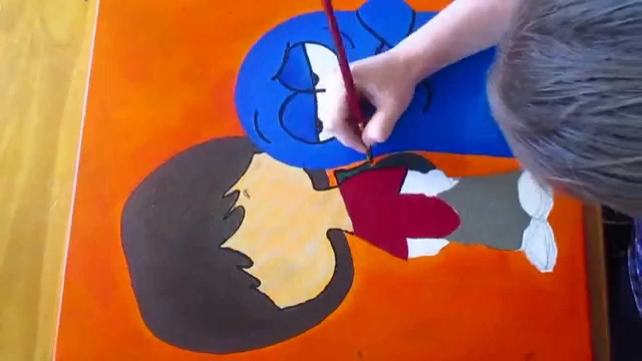 Painting Mac And Bloo From Foster S Home For Imaginary