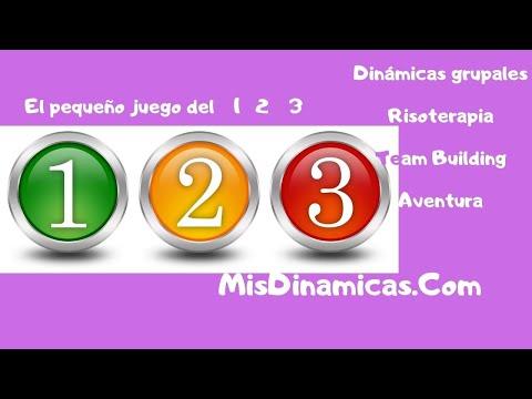 El pequeño juego del 1 2 3 #juego #minijuego #rompehielos