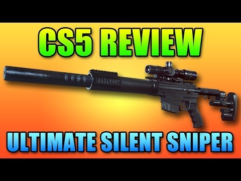 Battlefield 4 CS5 Review - Highest DPS Sniper Rifle! BF4