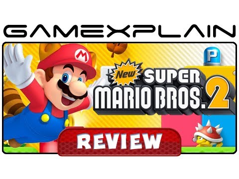 New Super Mario Bros  2 - Video Review (Nintendo 3DS) [HD] - Vloggest