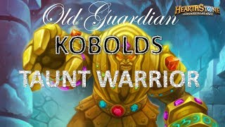 Taunt Warrior in Kobolds and Catacombs (Hearthstone deck guide)