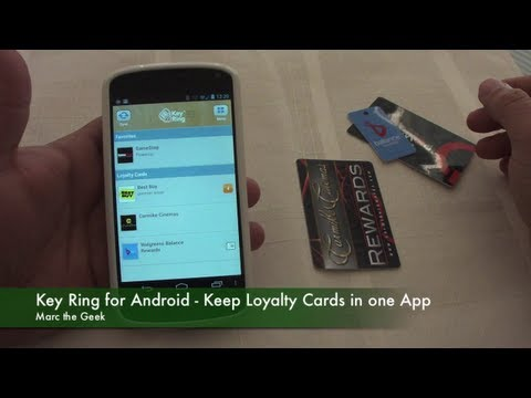 Key Ring for Android - Keep Loyalty Cards in One App