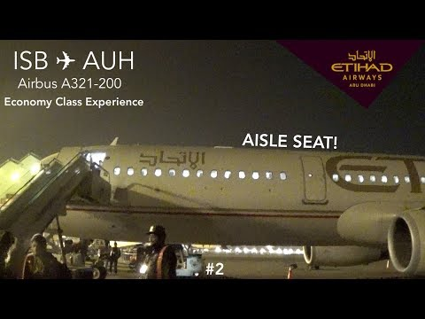 TRIP REPORT | Etihad Airways | Islamabad to Abu Dhabi | Airb