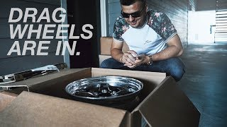 WELD UNBOXING for my once again BROKEN Mustang..