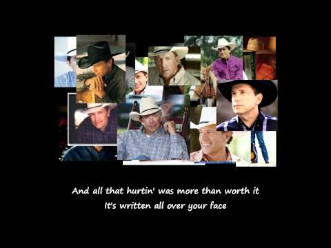 George Strait - She'll Leave You With A Smile (Lyrics)