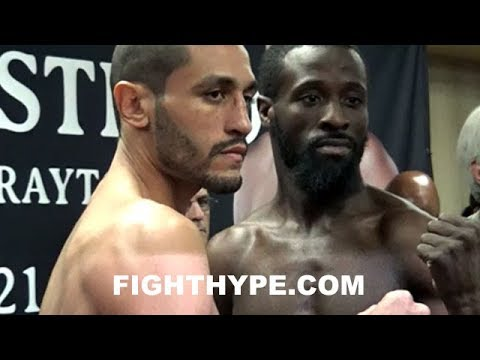 WEIGH-IN: MIGUEL CRUZ & DAVID GRAYTON GET DEAD SERIOUS; ALL BUSINESS DURING FACE OFF