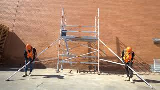 Synergy Scaffolding - How to Build a Wide Double Platform Mobile Scaffold