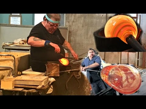 Glass blowing Factory