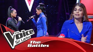 The Battles : Chathurya Sadabarana V Kavini Liyadipita | Dadubasnamanaya | The Voice Sri Lanka Thumbnail