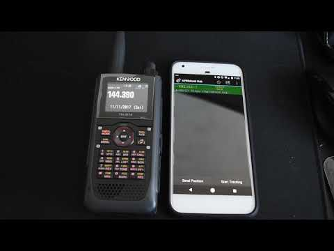 Kenwood D-74A / APRSDroid Transmit & Receive Over Bluetooth