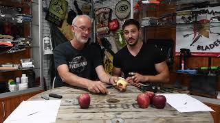 Quel couteau de 30 à 60€ pour éplucher une pomme ?