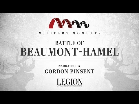Military Moments: Battle Of Beaumont-Hamel | Narrated By Gordon Pinsent