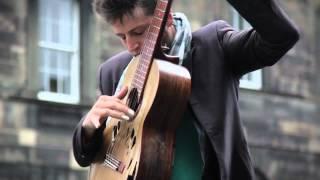 Tom Ward Busking at Edinburgh Fring...
