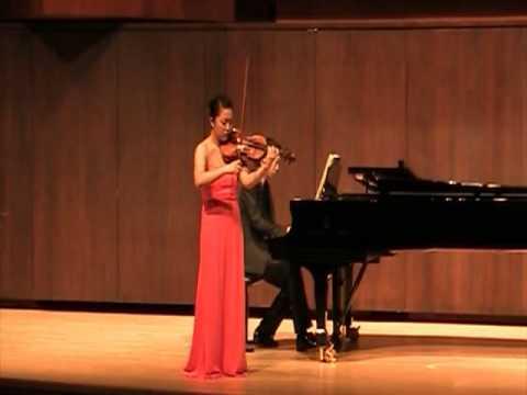 Jisoo Kim Franck Sonata ( 3rd mov )