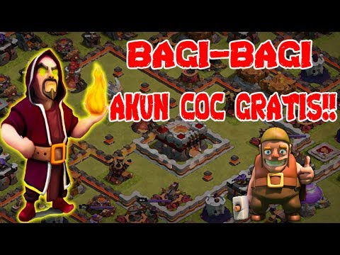FREE COC GUYS ACCOUNT !! 100% WORK !! DO NOT BELIEVE!! PLEASE TRY...