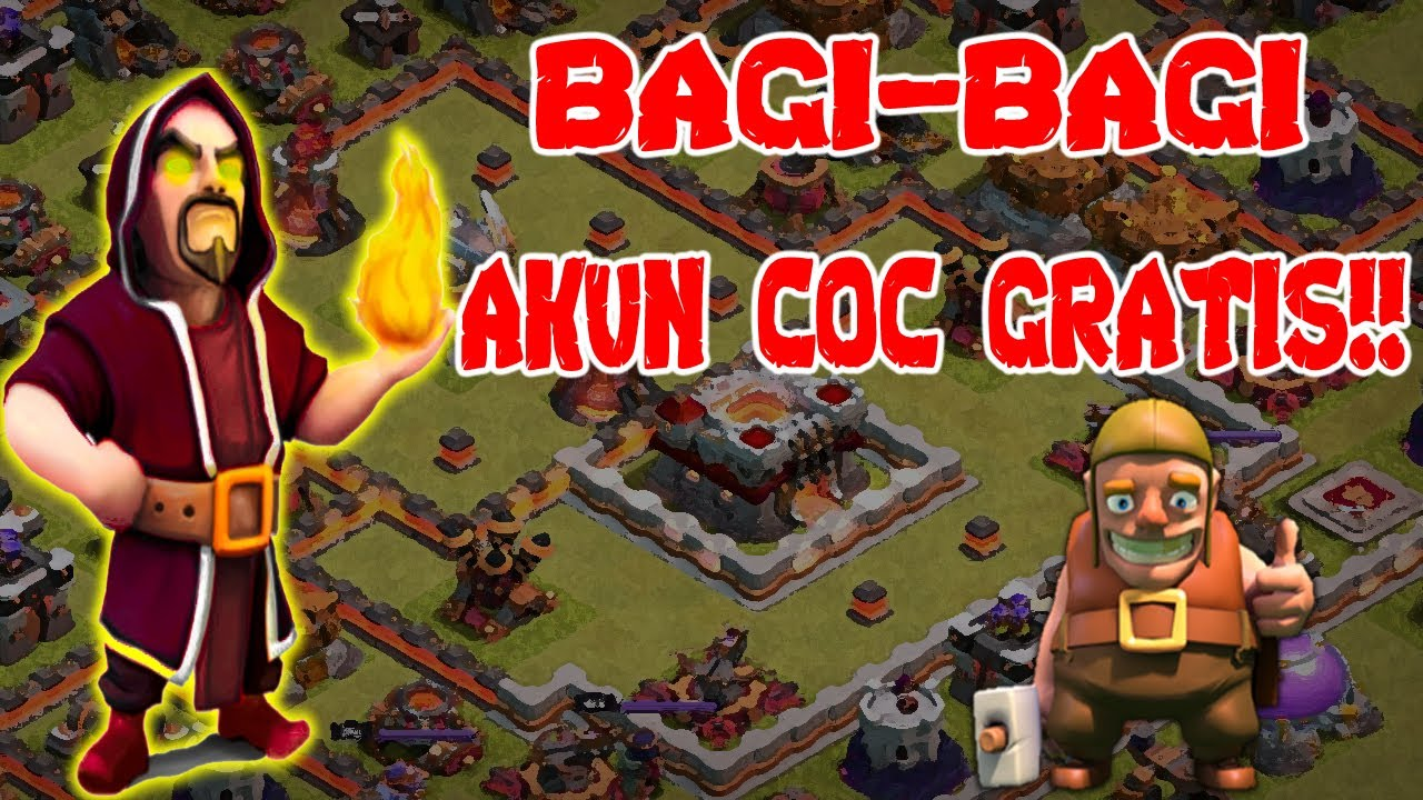 Akun Coc Gratis Th11 Bh6 100 Work Youtube