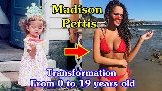 Madison Pettis transformation from 0 to 19 years old Video