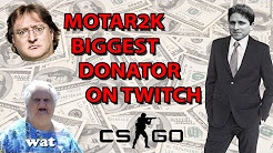 MOTAR2K Donate Compilation @CSGO Twitch Players [TOP DONATION]