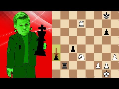 World Champion Magnus Carlsen playing bullet chess  Lichess.org Titled Arena 4