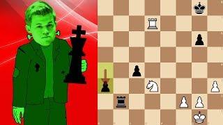 World Champion Magnus Carlsen playing bullet chess | Lichess.org Titled Arena 4 thumbnail
