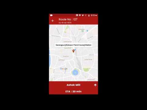 AMTS (Ahmadabad  city guide on mobile) | How to use AMTS mobile application