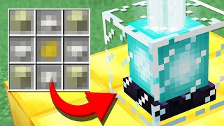 Minecraft but the RAREST Drop is RANDOM (Recipe Randomizer Survival #4)