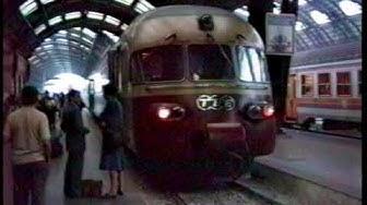 Last journey Trans Europ Express Gottardo