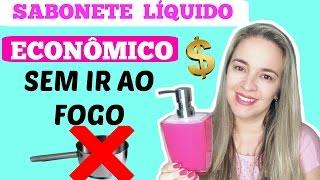 COMO FAZER SABONETE LIQUIDO ECONÔMICO/SEM IR AO FOGO/simplesmente Ci