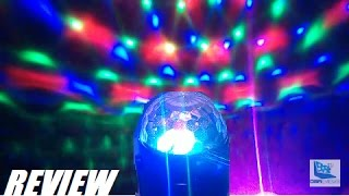 REVIEW: Glisteny DJ MIni LED Stage Ball Party Light