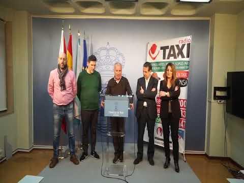 Los taxistas llevarán a 180 personas mayores a disfrutar de las luces de Navidad