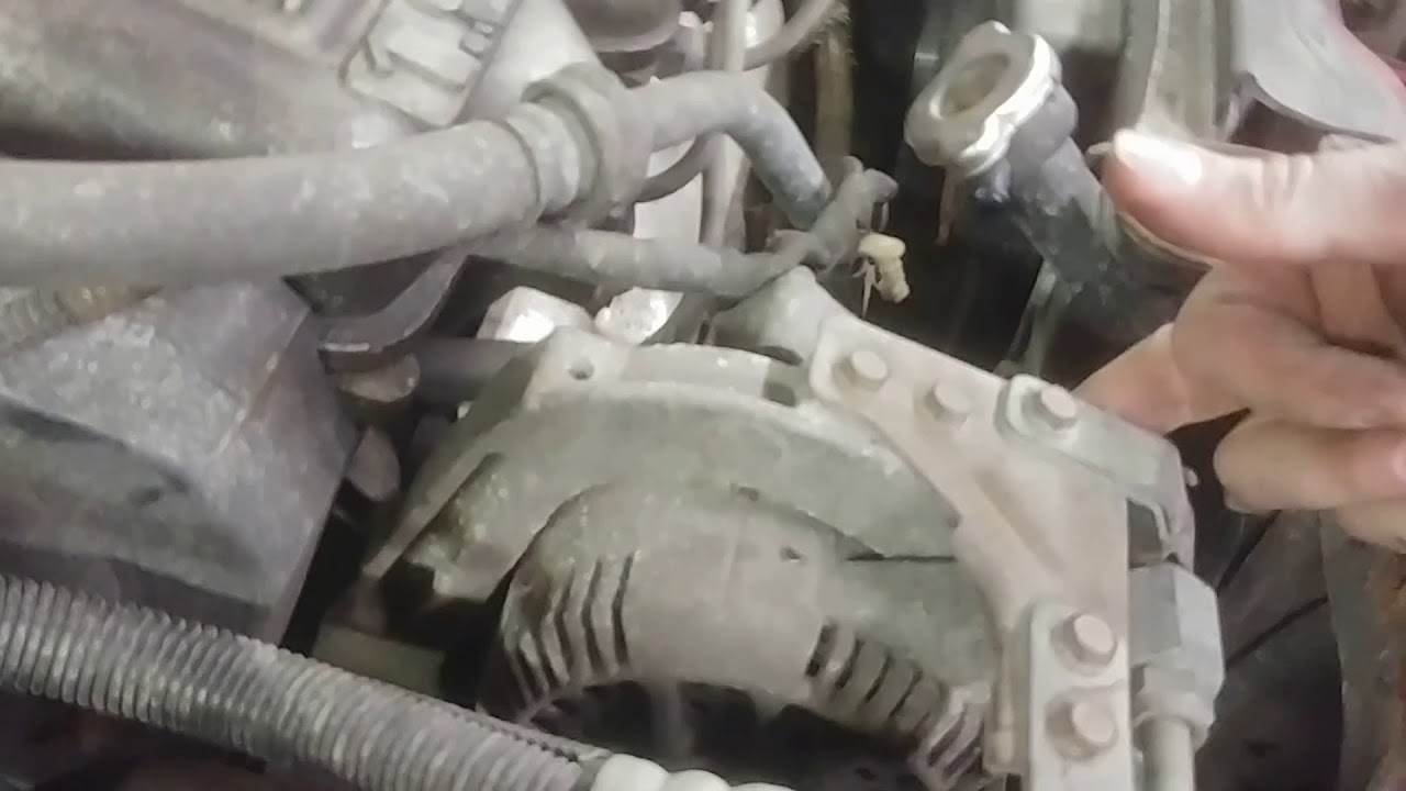 Alternator Replacement 1996 Ford Escort 1 9 Youtube