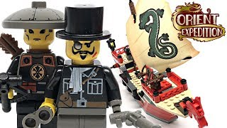 LEGO Orient Expedition Emperor's Ship review! 2003 set 7416!