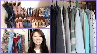 Closet Tour And Organization Tips (small Space)