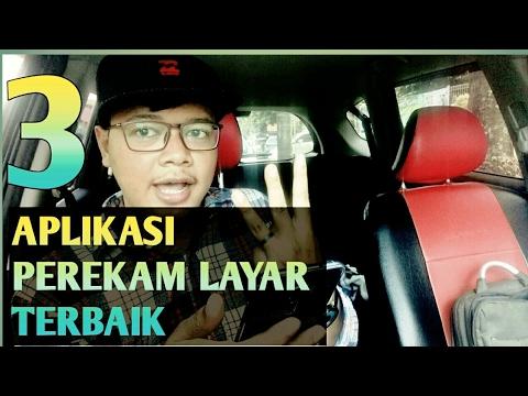 3 APLIKASI RECOMENDED UNTUK REKAM LAYAR - 100% GRATIS NO ROOT