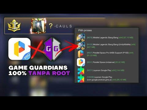 Update! Cara Pakai GG Di Mobile Legends V.2 Unity - 100% No Root
