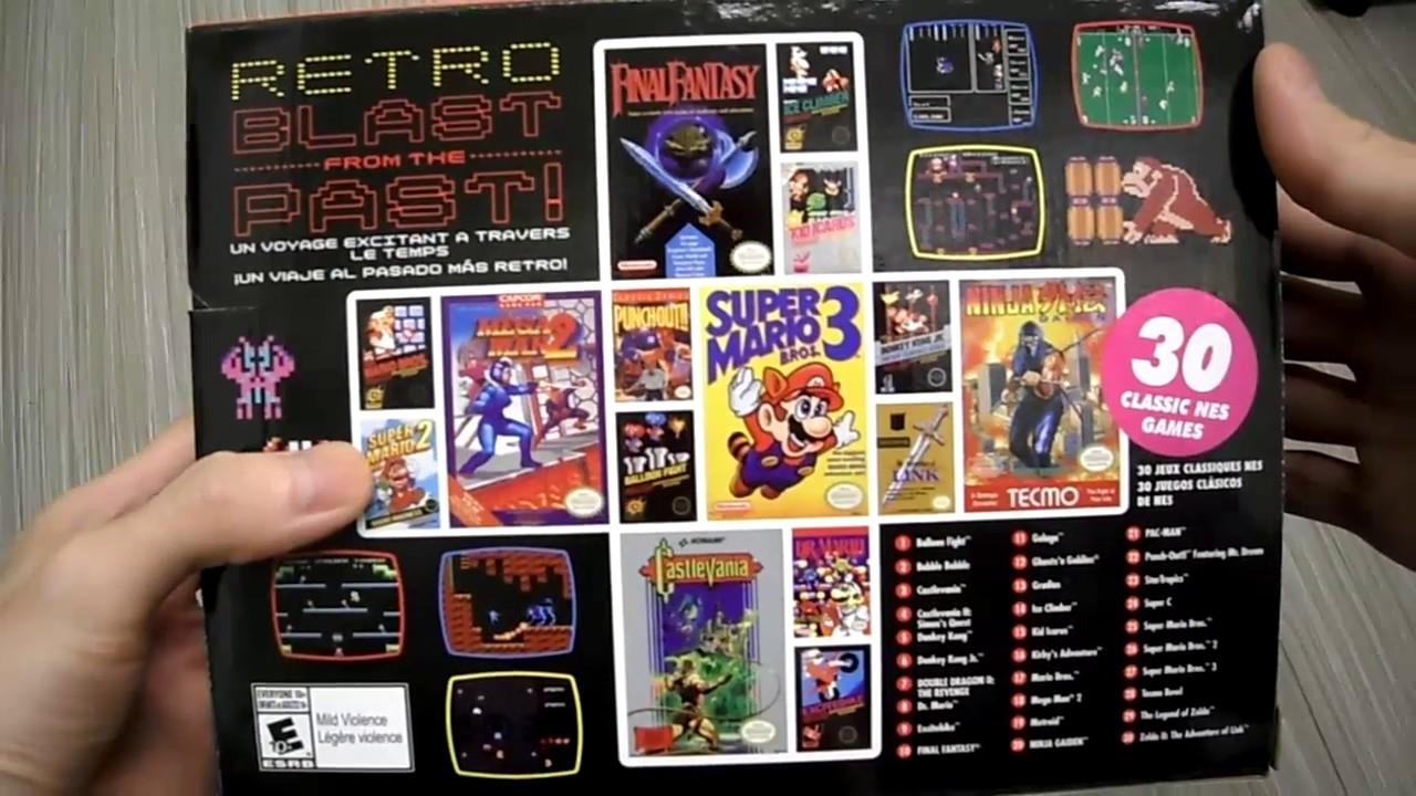 Kintips Unboxing Nintendo Entertainment System Nes Classic Mini