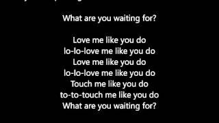 Ellie Goulding - Love Me Like You Do - Lyrics Scrolling