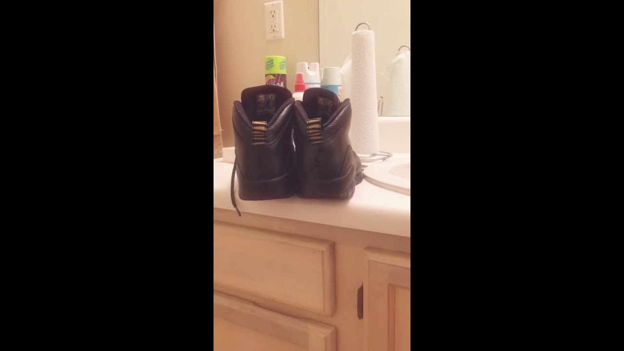 034b3774c4a Jordan retro 10 NYC real vs fake - YouTube
